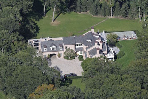 Tom Brady and Gisele's Brookline home