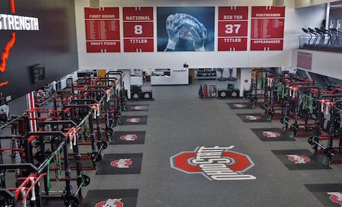 A Video Tour Of The Woody Hayes Athletic Center