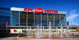 The KFC Yum! Center In Louisville Is A Unique College Basketball Setting