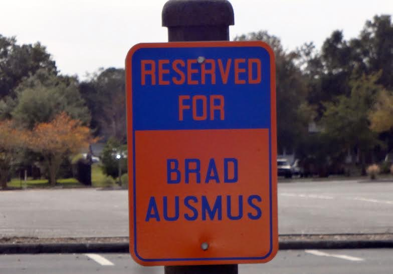 Brad Ausmus Parking Spot Joker Marchant Stadium