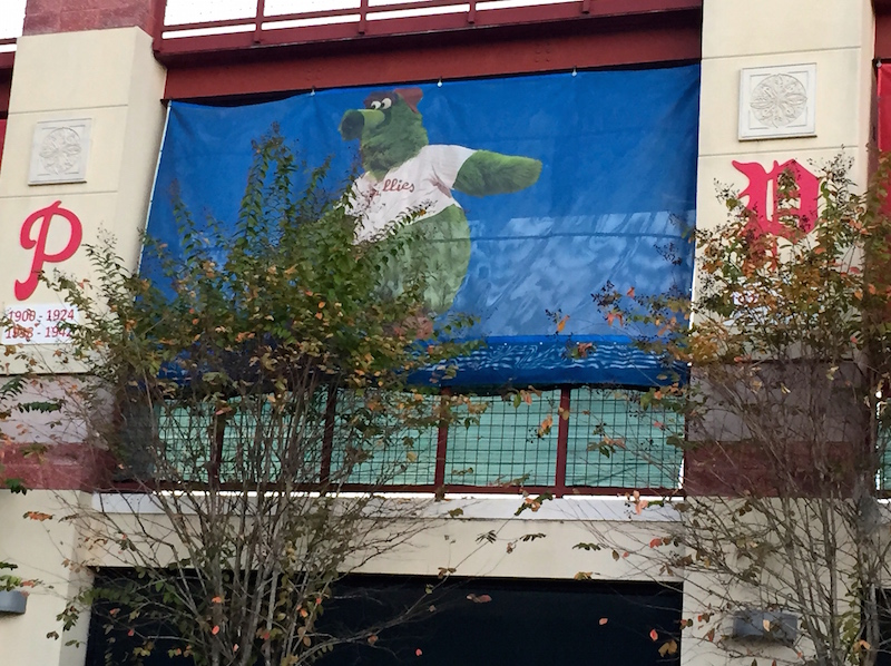 Phillie Phanatic photo Bright House Field