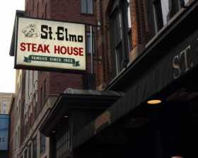 As Usual, St. Elmo Is Indy's Place To Be During Super Bowl Week