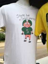 Michigan State Spartans Small Penis Shirt