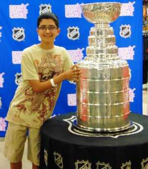 Stanley Cup and Hockey Fights Cancer