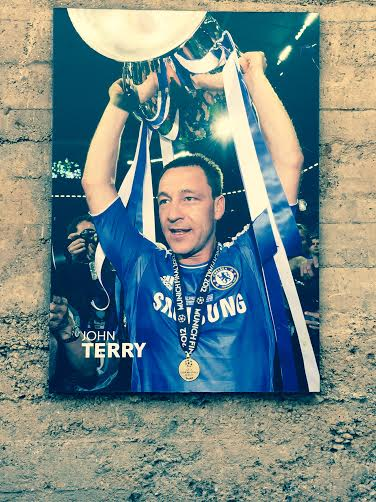 John Terry poster Stamford Bridge