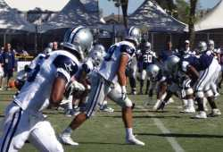 Cowboys training camp Residence Inn Oxnard River Ridge