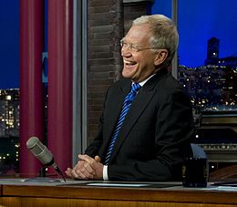 Letterman Compares Hurricane Sandy To The Yankees & Jets