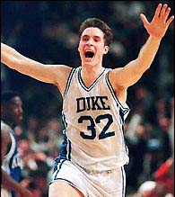 No. 1 Villain of all-time Christian Laettner