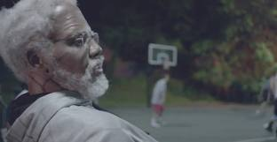 Kyrie Irving dresses up as Uncle Drew