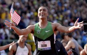 Ashton Eaton decathlon world record holder