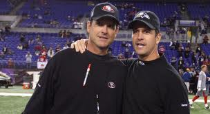 Jim Harbaugh vs John Harbaugh in HarBowl and Super Baugh