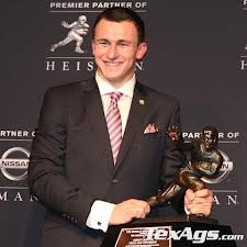 Johnny Manziel first Texas A&M Heisman since John David Crow