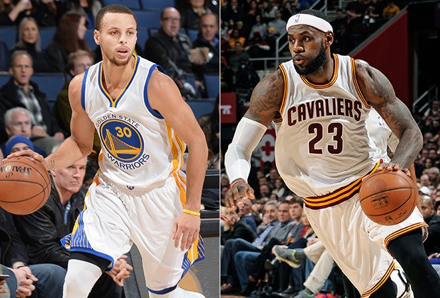 2015 NBA Finals Stephen Curry vs. LeBron James