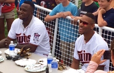 Buxton & Sano at the Minnesota State Fair