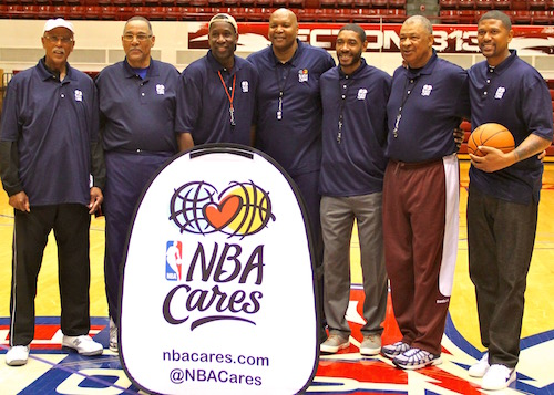 Detroit Hoops Icons Convene For A Good Cause (Photos)