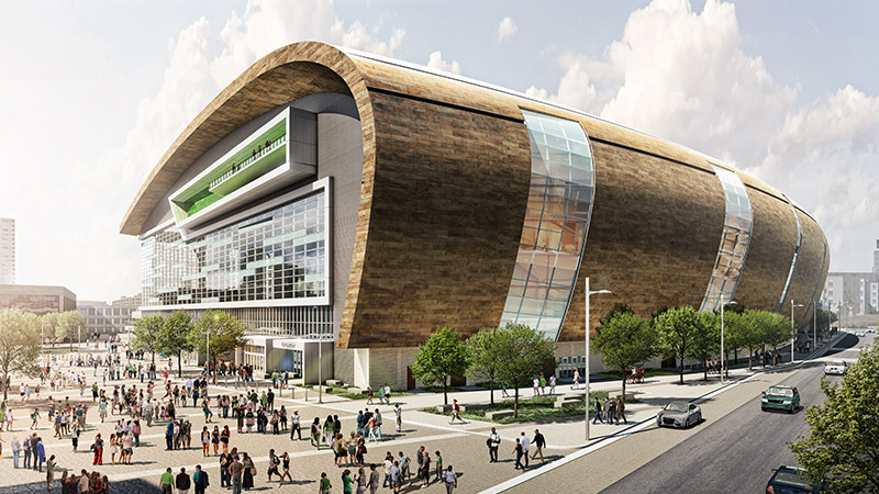 Bucks New Arena