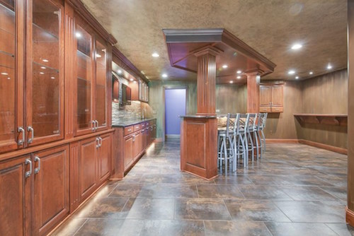 an architectural tour of adrian peterson s minnesota home