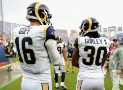 Goff, Gurley and McVay Leading The Way For The Much Improved Rams