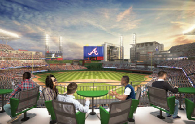 Terrace Tables SunTrust Park
