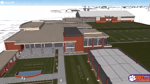 Clemson's $55 million Football Operations Complex