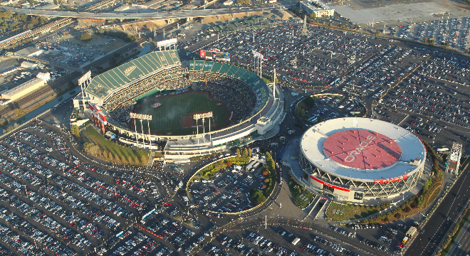 Oakland-Alameda County Coliseum and Oracle Arena