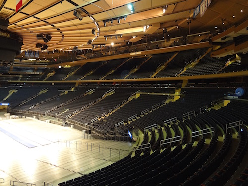 Madison Square Garden Seating Bowl