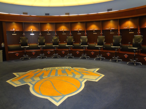 Madison Square Garden Knicks Dressing Room