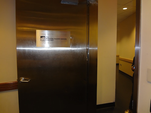 Madison Square Garden Home Locker Rooms