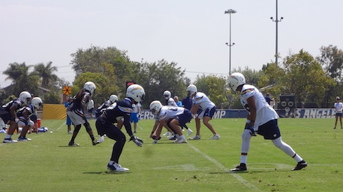 Philip Rivers At 2017 Chargers Camp