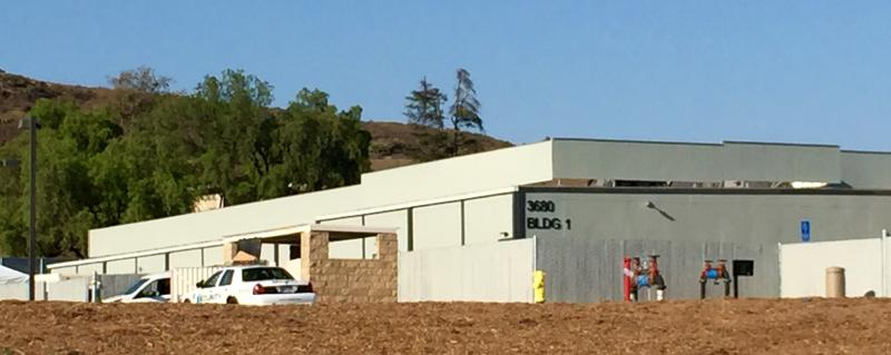 The Rams Thousand Oaks Practice Facility At California Lutheran University