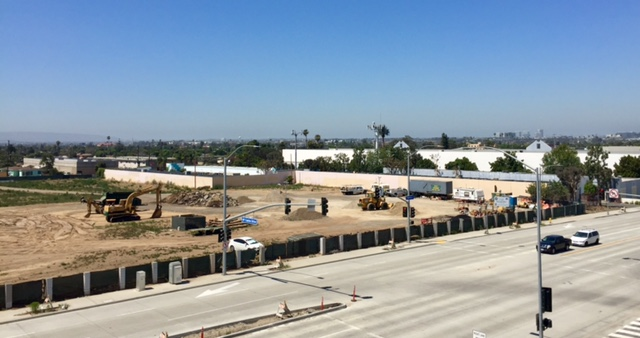 Clippers Inglewood Stadium Site