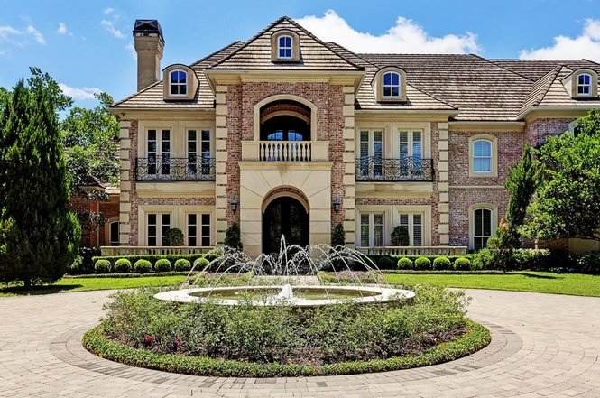 Adrian Peterson Houston home