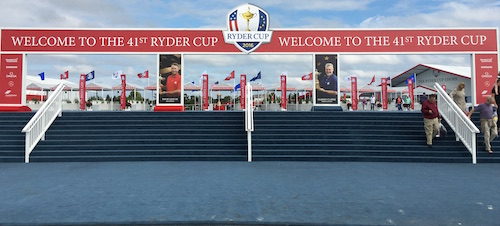 2016 Ryder Cup Main Entrance