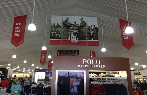 2016 Ryder Cup Merchandise Tent