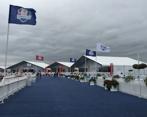 2016 Ryder Cup Hospitality Tents