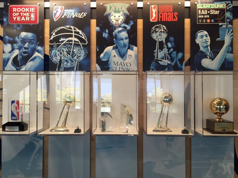 The Courts at Mayo Clinic Square Trophies