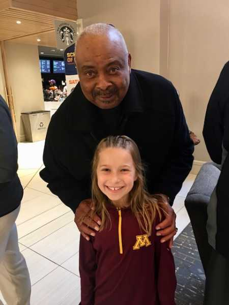 Fan Photo With Clem Haskins