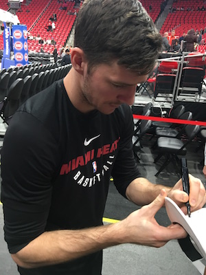 Goran Dragic Signing Autographs