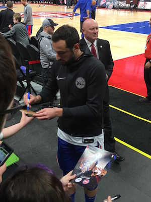 Marco Belinelli Signing Autographs