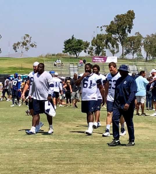 Take A Tour Of Dallas Cowboys Training Camp In Oxnard