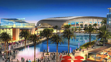 Rams and Chargers New LA Stadium