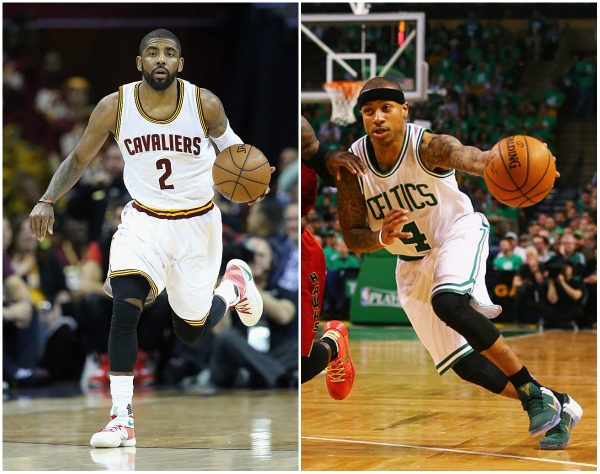 Kyrie Irving and Isaiah Thomas blockbuster trade