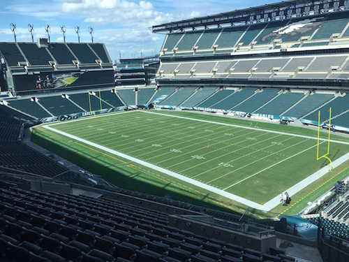 Lincoln Financial Field Tour