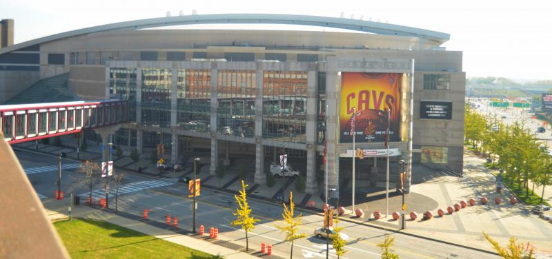 Quicken Loans Arena Downtown Cleveland