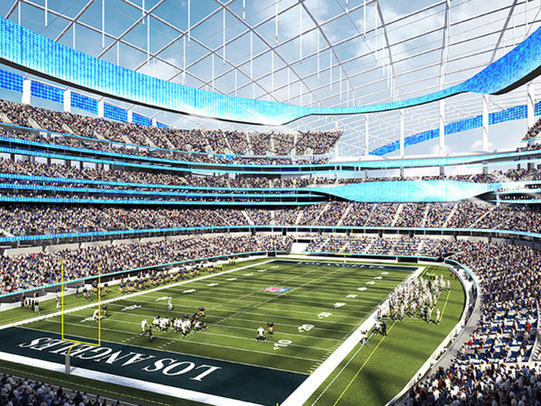 Rams and Chargers Inglewood Stadium