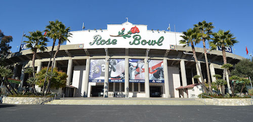 College Football Playoff Rose Bowl Stadium, Team Hotel, Practice and Media Info
