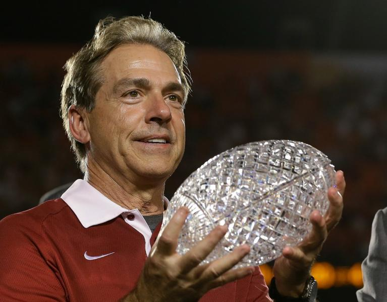 Nick Saban National Titles