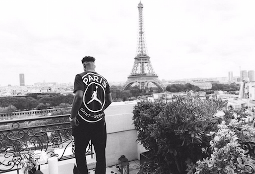 Jimmy Butler at Effel Tower