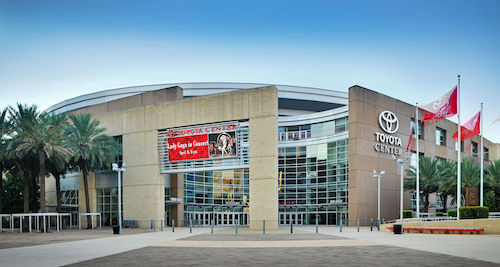 Toyota Center In Houston Exterior