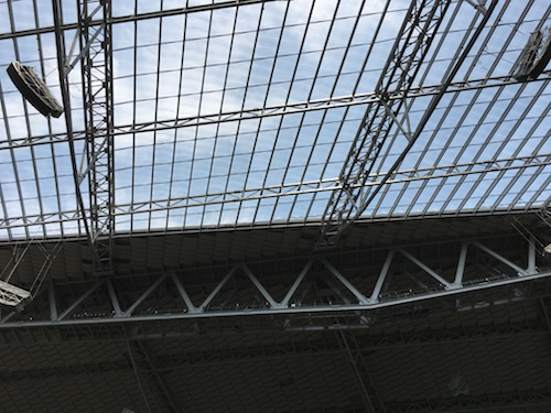 U.S. Bank Stadium Clear Roof